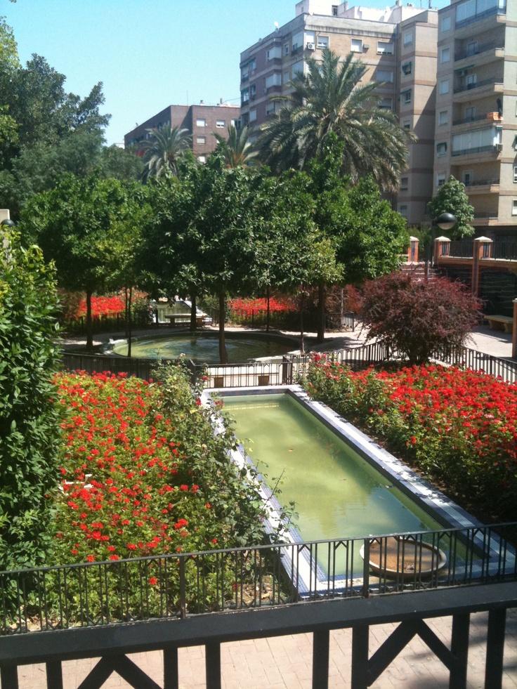 Jardin de Salitre Murcia city