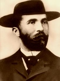 Jefferson Smith 1860-1898 aka Soapy Smith, famous Bunko Man of the Old West.  He ran Skagway, Alaska, during the gold rush until he was killed in a shootout with vigilantes in 1898.