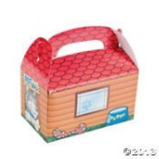 """FAVOR- Puppy Dog House Treat Box   place next to """"adopt me"""" basket to take """"puppies"""" home."""