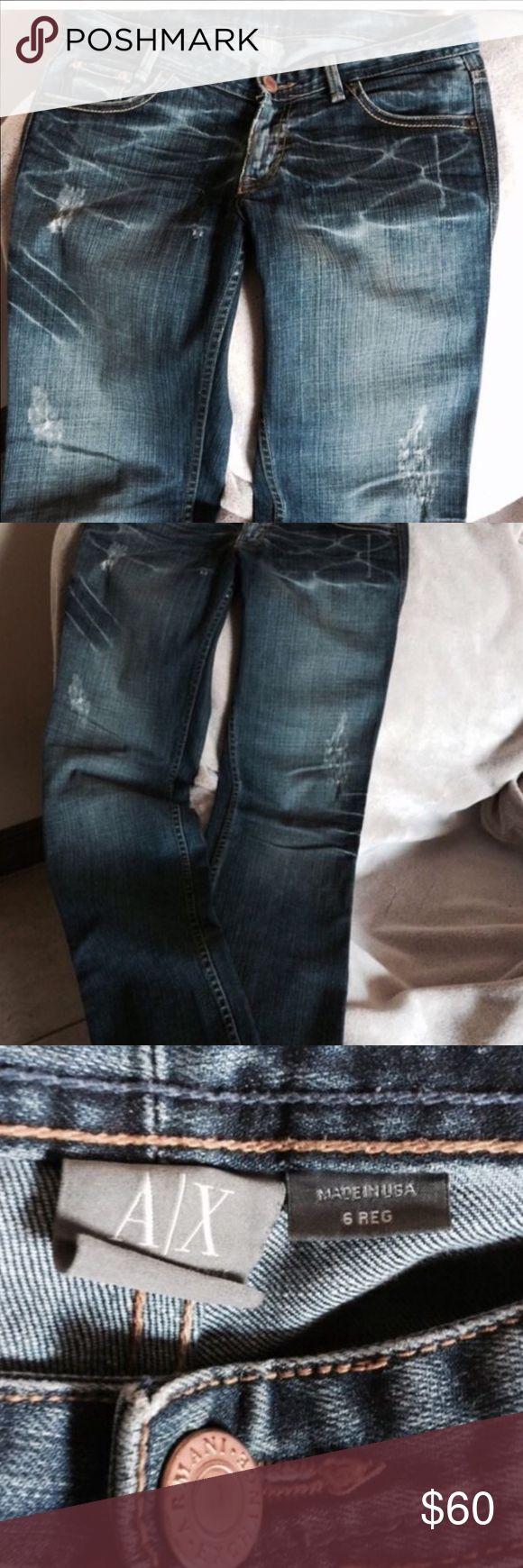 Armani Exchange Armani Exchange jeans size 6 great condition A/X Armani Exchange Jeans Boot Cut