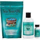 Purely Northwest Toenail Fungus Treatment with 16 oz Tea Tree Oil Foot Soak 9 f