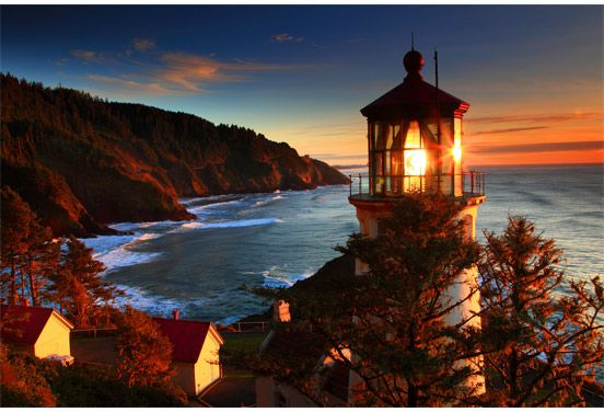 The Lighthouse Is the New Hotel | Heceta Head Lighthouse