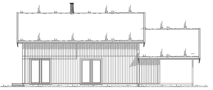 Fasade Øst - V2