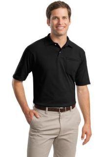 SanMar Jerzees 436MP, Jerzees® -SpotShield 5.6-Ounce Jersey Knit Sport Shirt with Pocket.