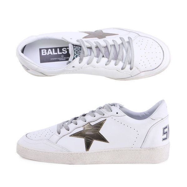 Golden Goose 17 F/W Men's Superstar Ball Star Sneakers G31MS592 F5 Deluxe Brand #GoldenGoose #FashionSneakers