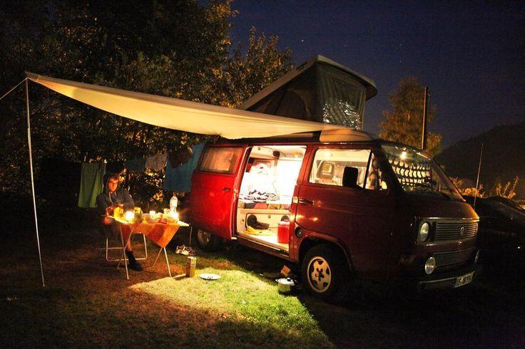 Rundreise mit Auto oder Bulli durch Spanien: Küste, Strand, Meer und gute Parkplätze zum Campen - Trip - bento
