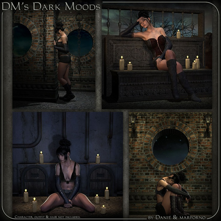 DMs Jail Props/Scenes/Architecture Themed Poses