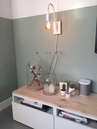 Binnenkijken bij dbarnas - De nieuwe lambrisering brengt wat meer warmte in huis!