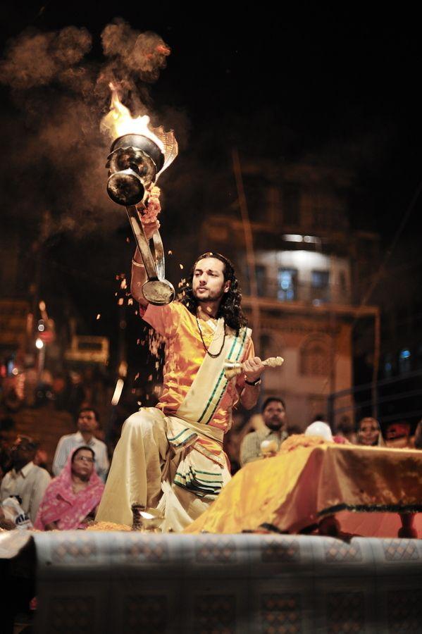 Puja Ritual, Varanasi, India