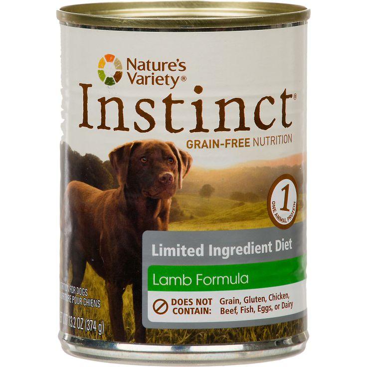 Natures variety instinct grainfree limited ingredient