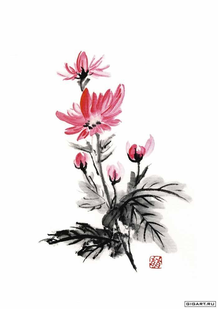 Номер картинки 1 для японские цветы. Только лучшие картинки для Вас
