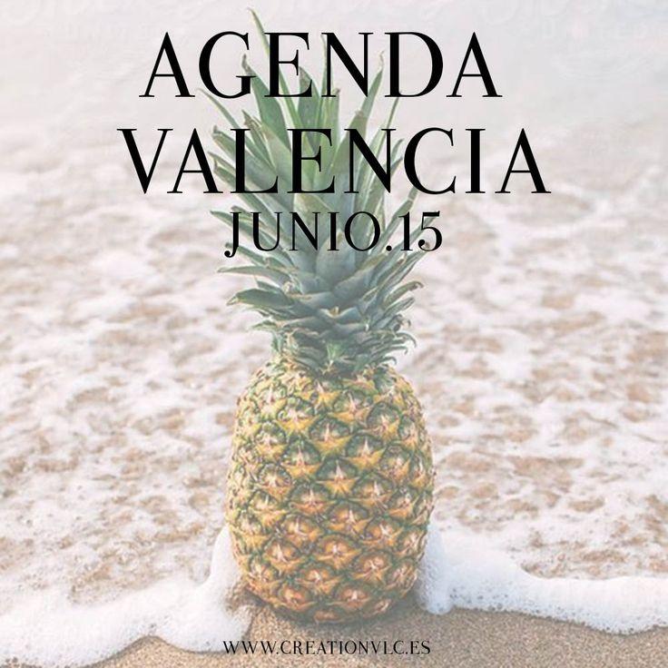 Agenda Valencia - Junio 2015 - CreationVlc