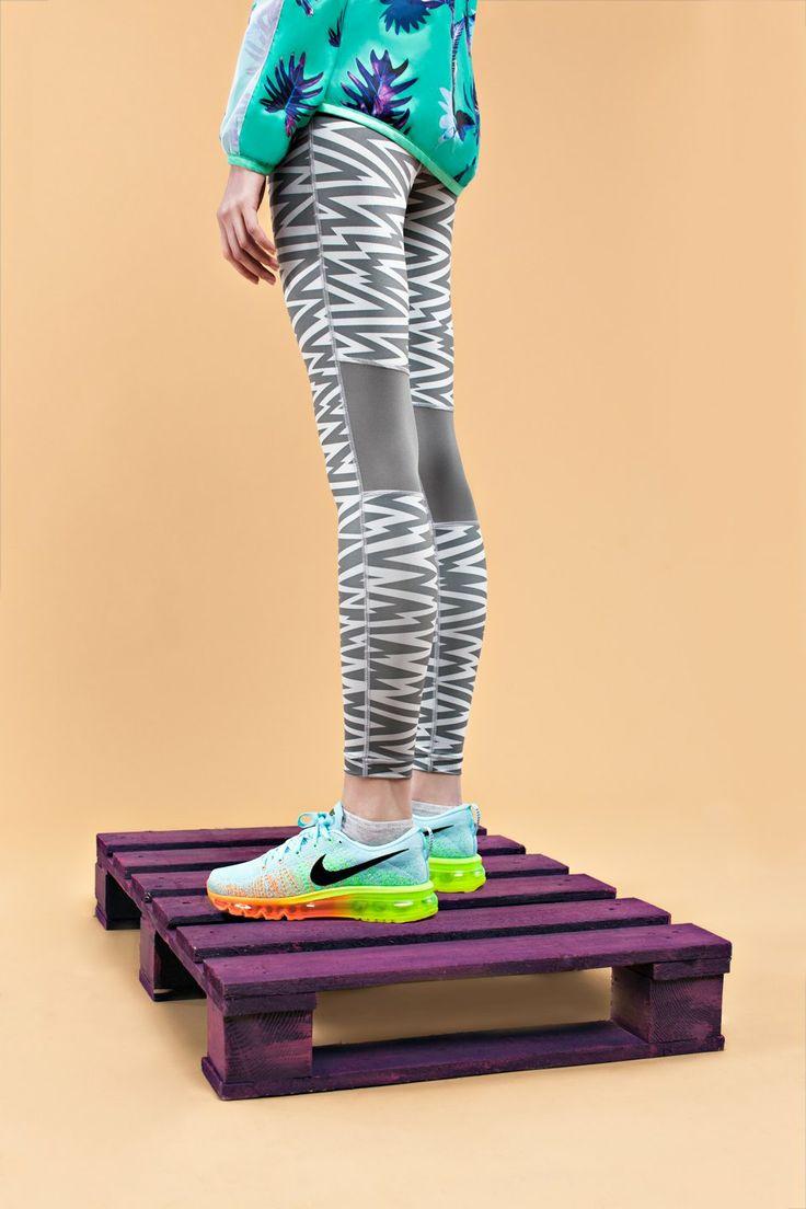 sport + fashion   nike sneakers   puma jacket   runner's kit   look at me