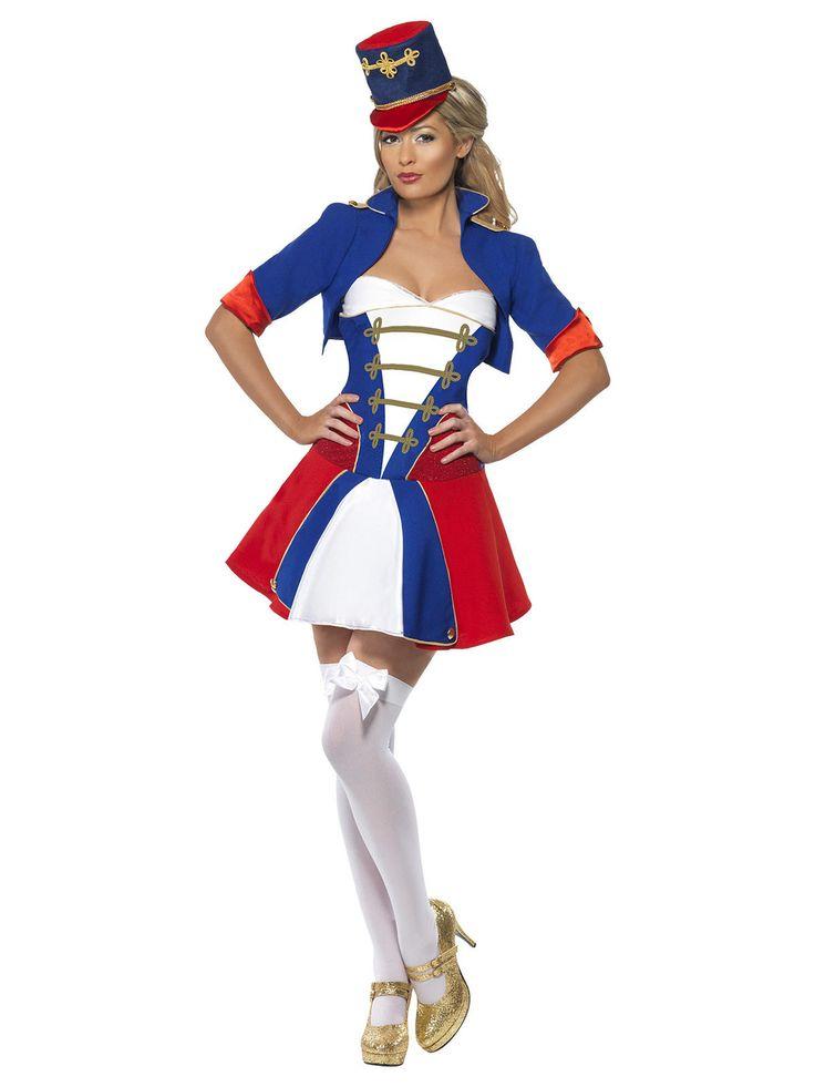 Sexy Nussknacker Damenkostüm Zirkus blau-weiss-rot aus der Kategorie Karnevalskostüme / Weihnachtskostüme. Diese attraktive Nussknackerdame kann nicht nur mit Walnüssen hervorragend umgehen...