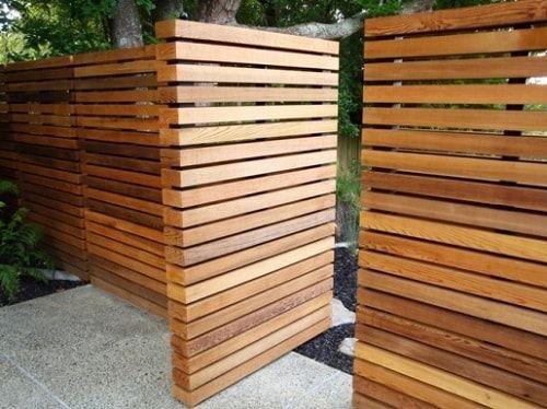 25+, claro, idéias impressionantes de design de portão de garagem de madeira   – Bodenbeläge