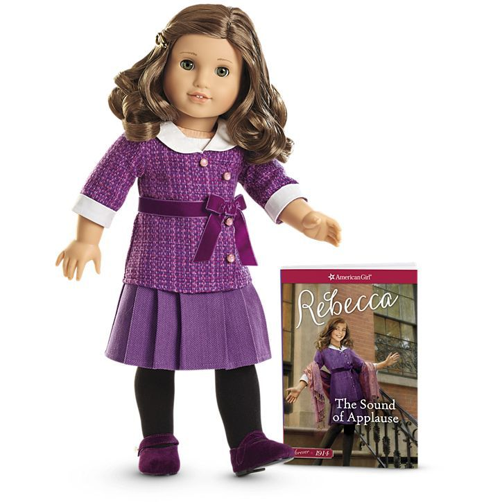 American Girl Rebecca Doll & Paperback Book