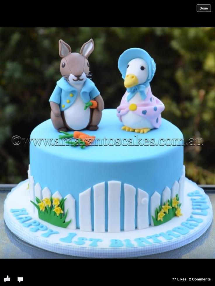 Beatrix Potter cake @ Amarantos