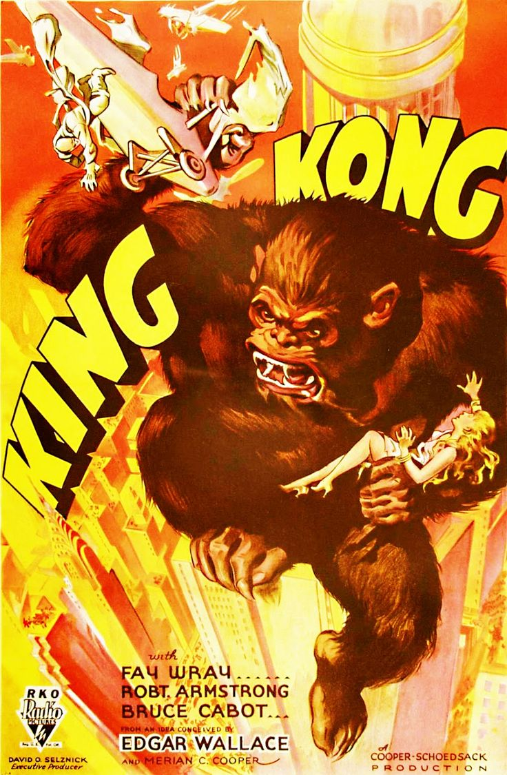 KING KONG | Mad Monster Party | King kong 1933, Movie ...