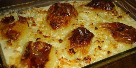 RECEPT DANA: Paprike punjene krompirom..stari vec pomalo zaboravljeni recept..ja ga pravim svake godine nekako u ovo vrijeme..kada ima paprika i krompira..probajte!… « Recept za sve