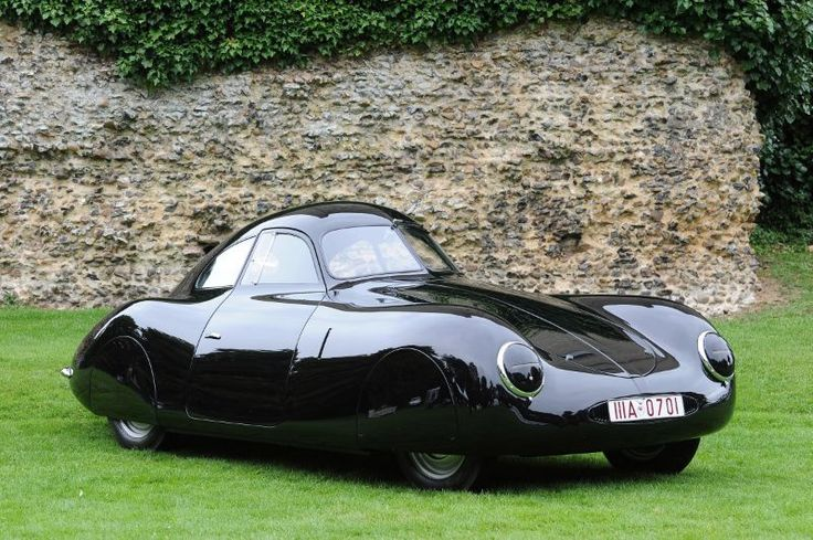 Hand built in 1939 out of aluminum, the Type 64 was Porsche's first official car.