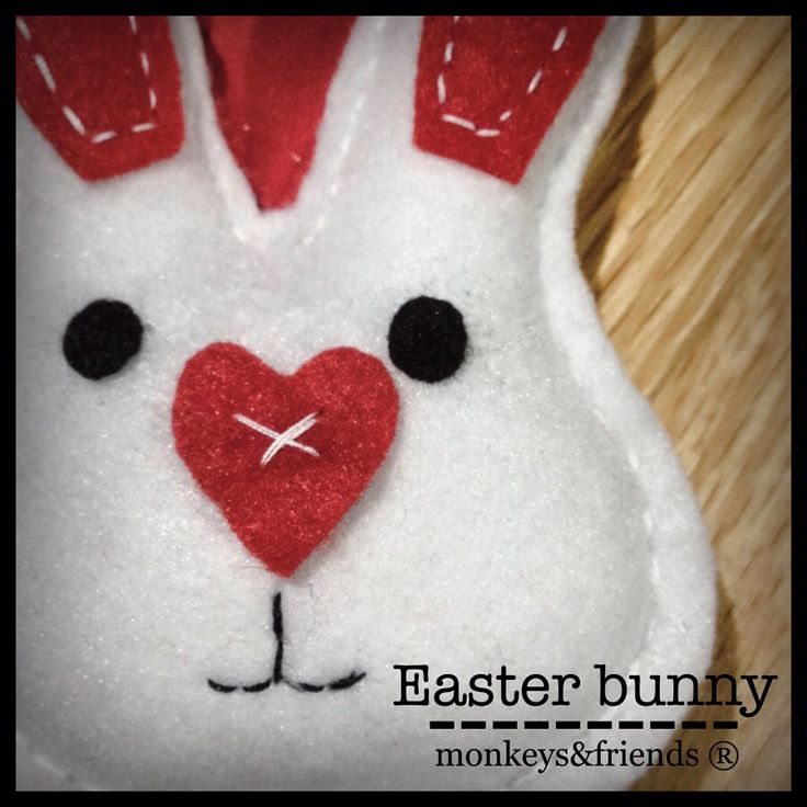 Easter bunny!  #monkeysandfriends #handmade #products