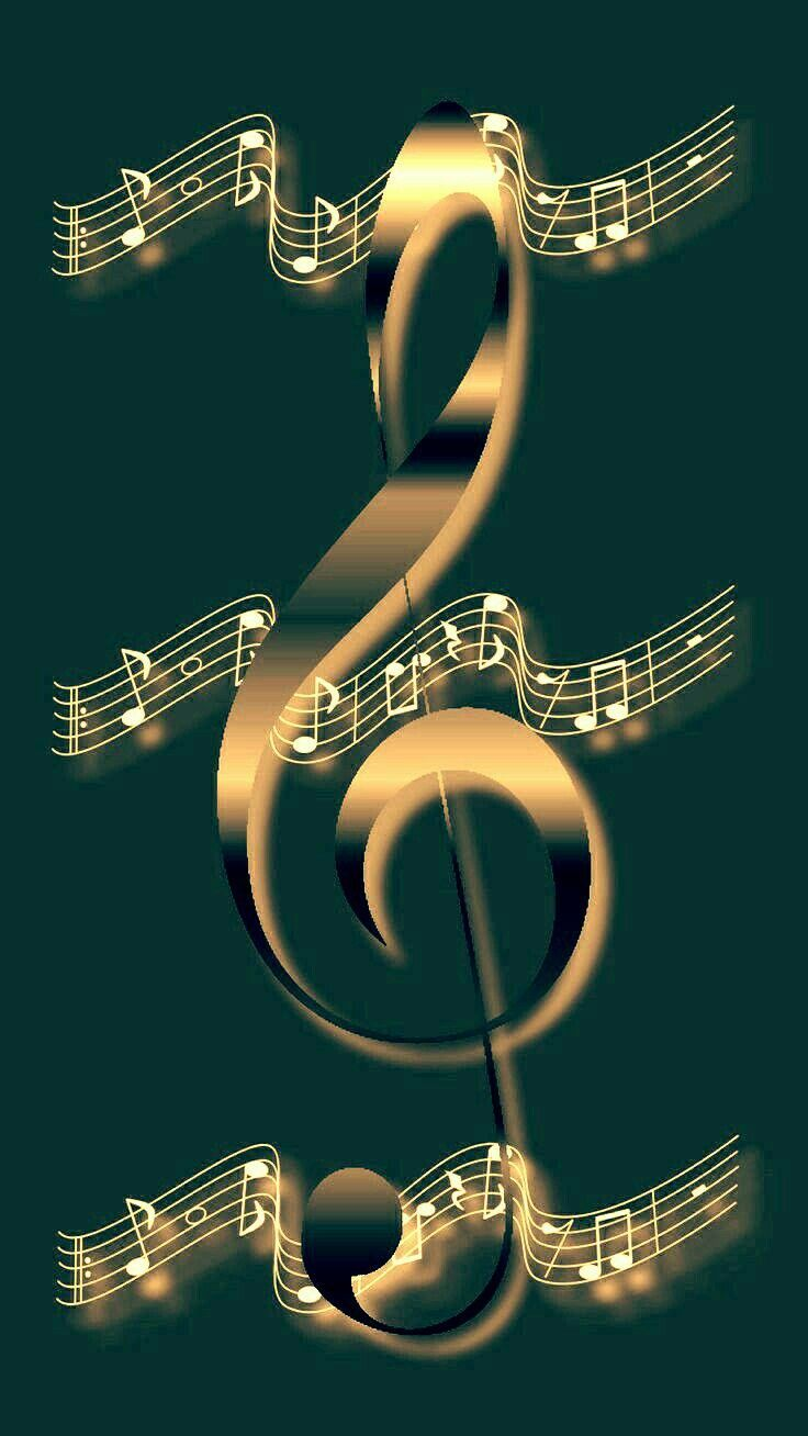 Wallpaper By Artist Unknown Musicnotes Wallpaper By Artist Unknown Music Notes Art Music Wallpaper Musical Art