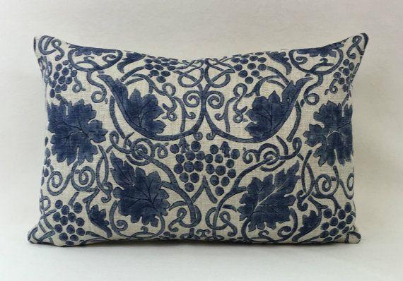 William Morris Grapevine Indigo 224476 Cushion Cover  176142ae2f403
