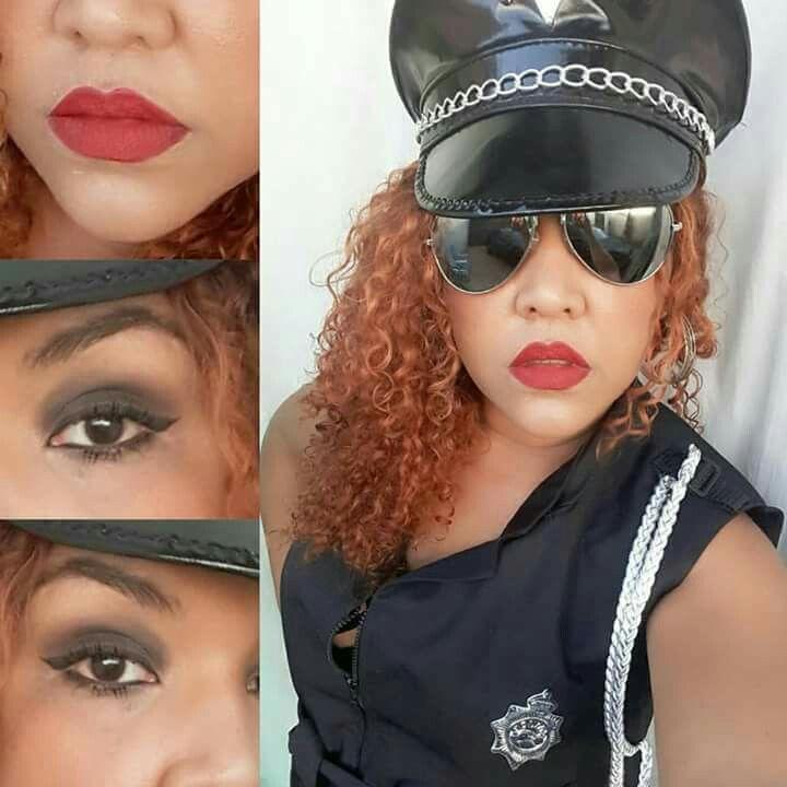 Policial cacheada
