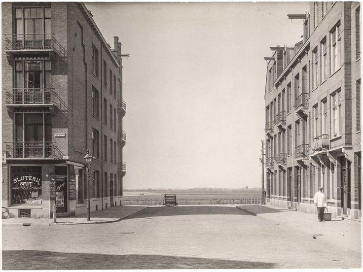 Jan Evertsenstraat, 1922. De straat bestond ...