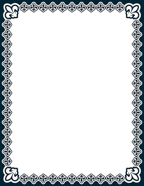 paper borders templates free - Blackdgfitness