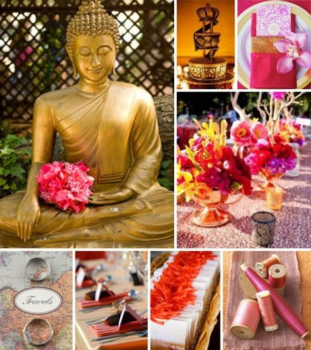 exotic bali-inspired wedding