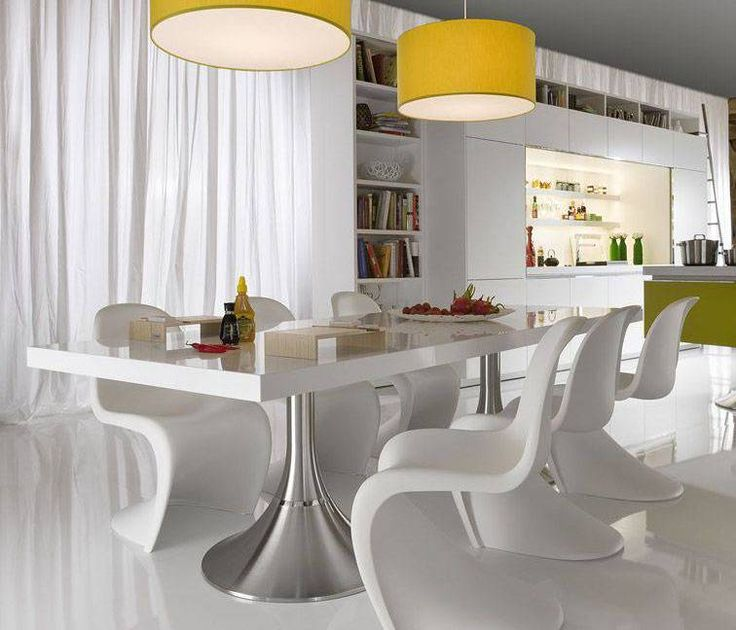 The Elegance of White Dining Room Table