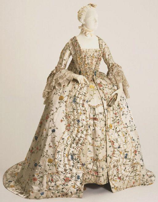 (Trim) Robe a la francaise ca. 1755-60