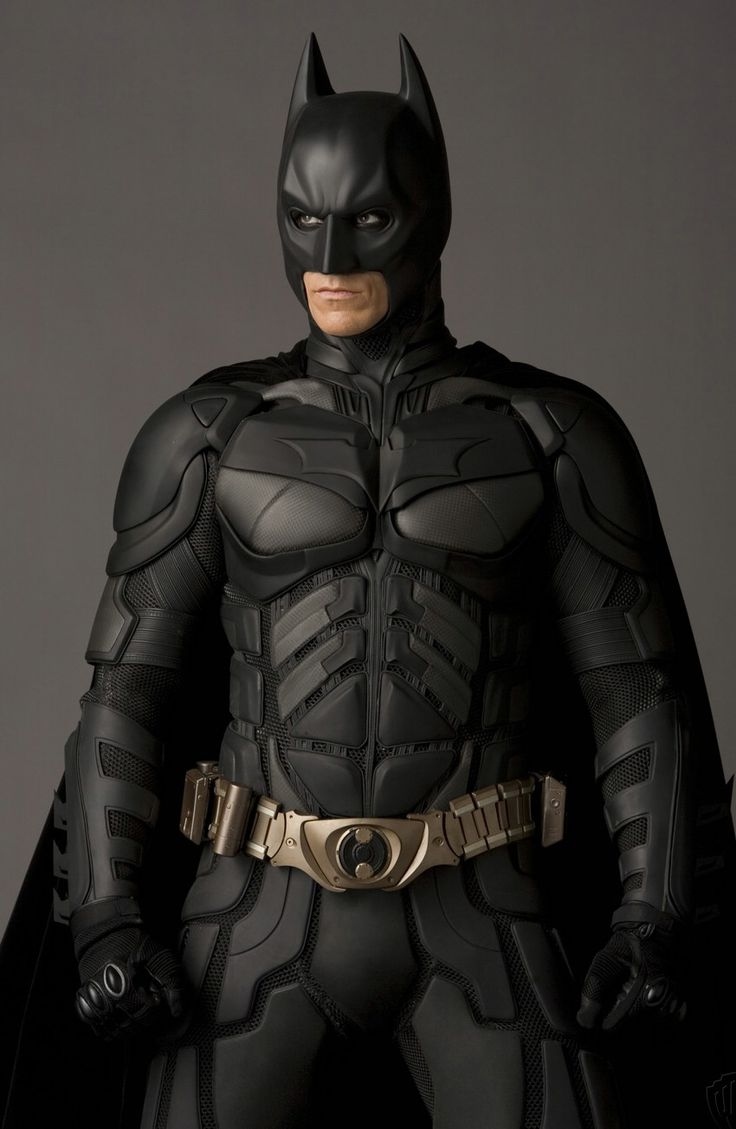 Batman (Christian Bale) - he is the best other than Adam West. Haha I just made a rhyme