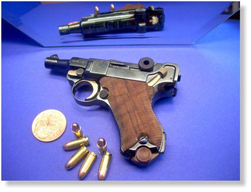 whiskeyandspentbrass:  Baby Luger in .380