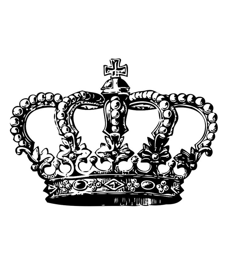 Latest Crown Tattoo Design Idea