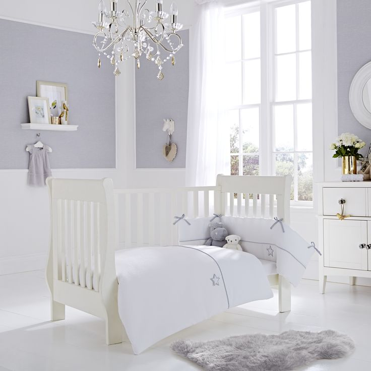 Silver Lining 2-Piece Cot Bedding Set