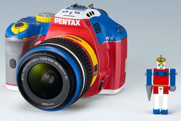 Pentax's limited edition Korejanai K-x DSLR reminds us of Harlequin VW Golf