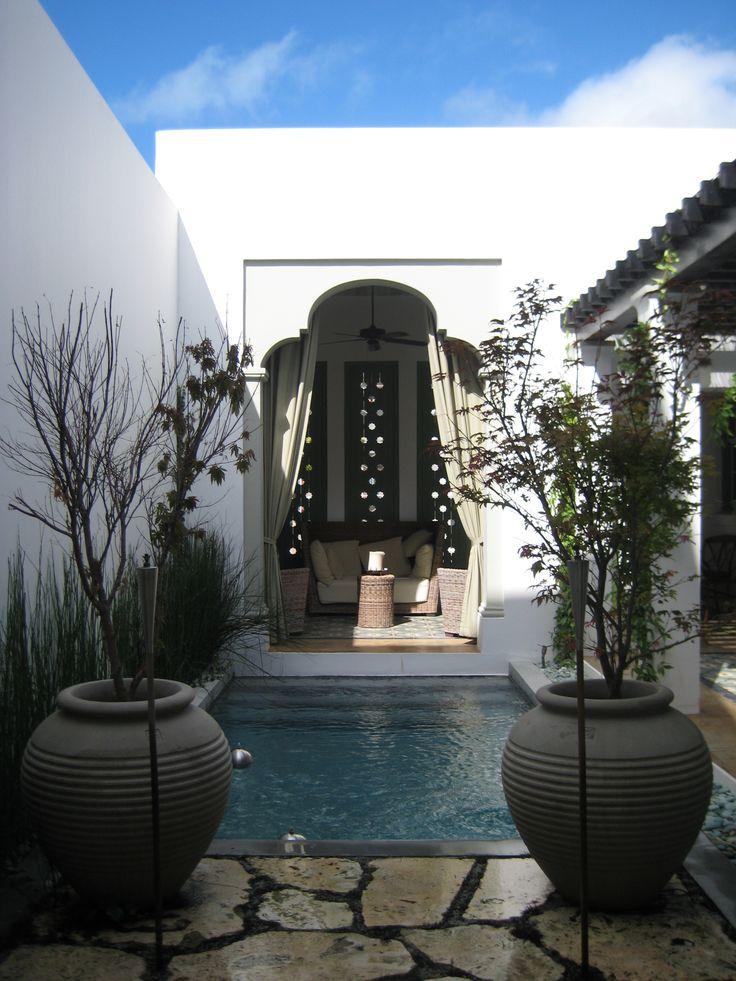 Courtyard Residence in Alys Beach FL