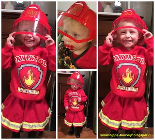brandweermeisje outfit (alleen de rok, cirkelrok patroon)  firefighters girl outfit (only the skirt, circle skirt pattern)