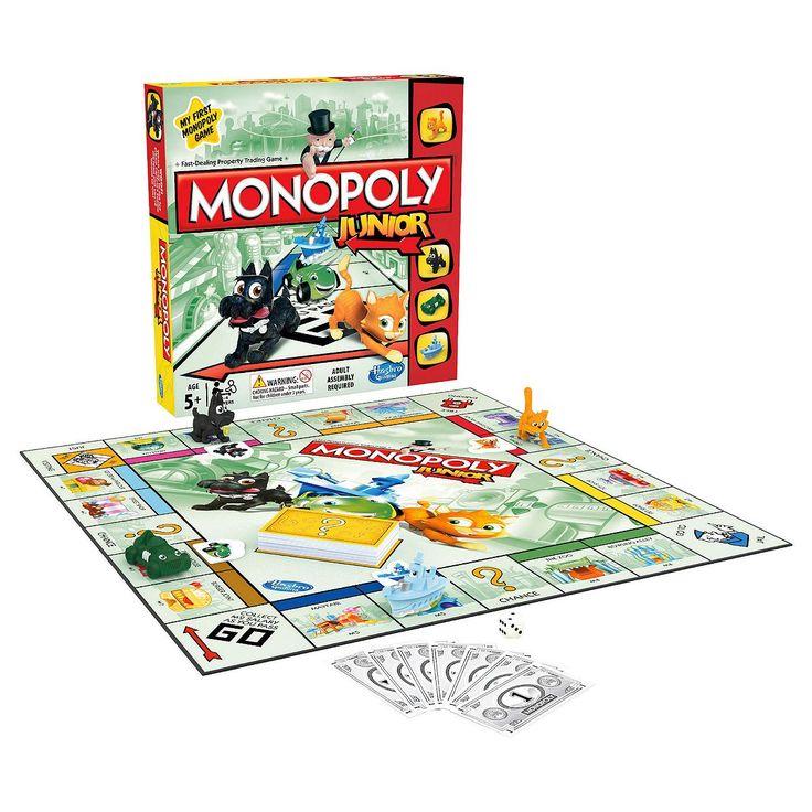 Tesco direct: Monopoly Junior Board Game