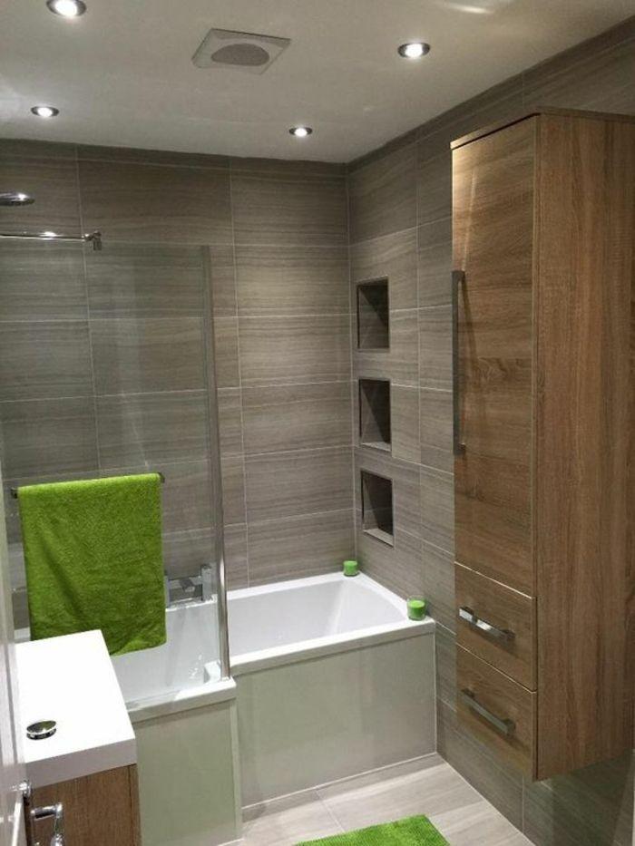 salle de bain 6m2, modele salle de bain, idée carrelage salle de