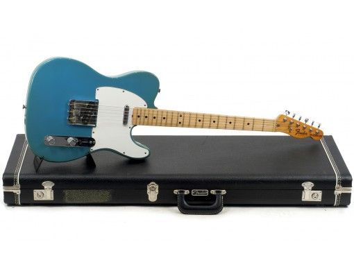 Guitare electrique Solidbody Occasion Vintage FENDER TELECASTER STANDARD INTERNATIONAL SERIES S844211 MAUI BLUE, corps Frêne