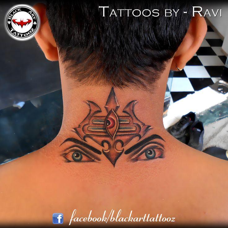 """Lord Shiva"" I had fun doing this cool shiva design. The design was taken from internet and edited specially on eyes and tilak!!! enjoyed working... #tattoo #tattooing #tattoos #tattooedgirl #art #artist #ink #inked #instatattoos #tattooed #tat #tats #bodyart #amazingink #inkedlife #inkedup #girlswithink #inkedbabes #tattoostyle #lord #religious #shiva #shiv #om #trinity #trishul #coloredtattoo #tattoosbyravi"