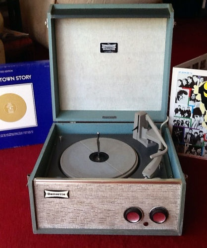 Dansette Record Player Senator Vintage Collectable from the mid 1960's | eBay