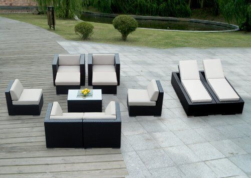 41 best garden patio furniture accessories images on for 10x10 sectional sofa