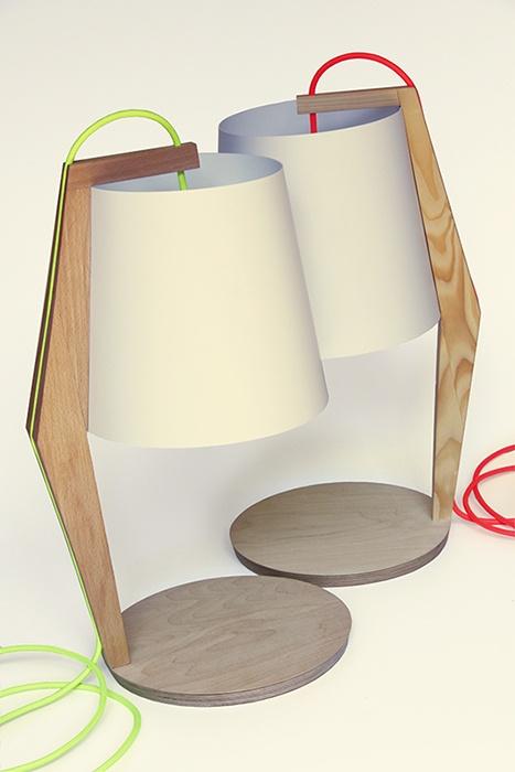 Handmade Table lamp by Kuiken Design