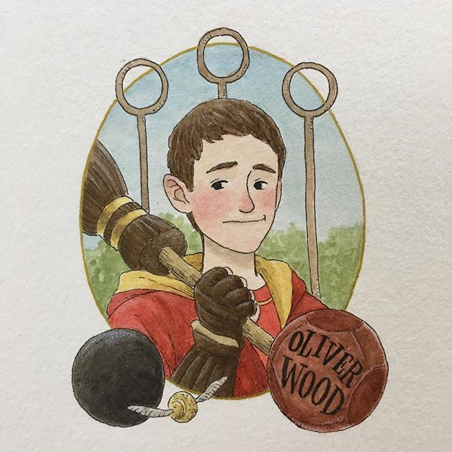 Oliver Wood by Melody Howe