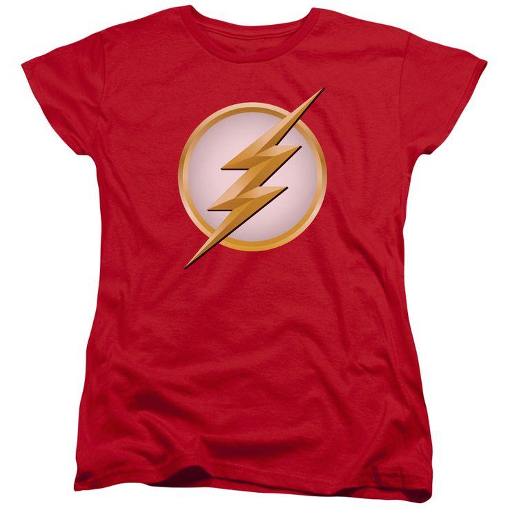 Official DC Comics The Flash Scarlet Speedster Graphic T-Shirt TV  Superhero