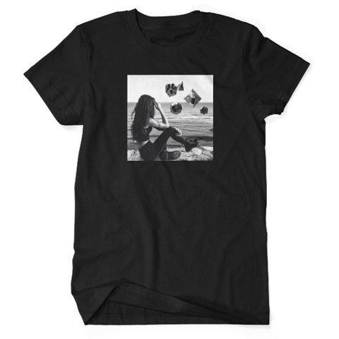 Mens Geometric Horizon T-Shirt by AWAK3N